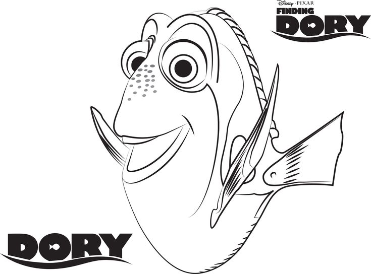 17 Best ideas about Finding Nemo Coloring Pages on