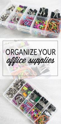 17 Best ideas about Office Supply Storage on Pinterest ...