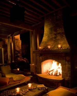 Warm  very Cozy  FIREPLACES  Pinterest  Mediterranean