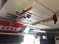 Ceiling Fishing Rod Rack