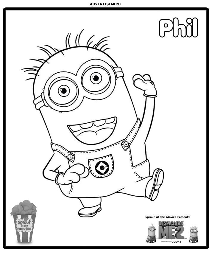 17 Best Ideas About Dibujos Para Colorear Minions On