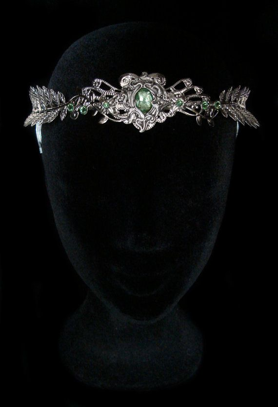 Elven Nymph Crown Dryad Headdress Mother Nature Tiara