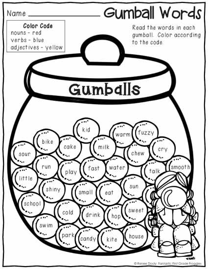 Literacy, Math and Gumball on Pinterest