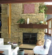 How to Tear Out a Brick Fireplace Face & Replace it With ...