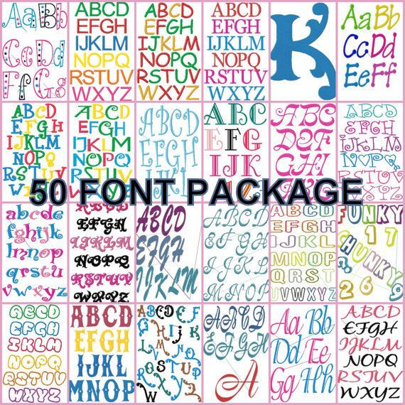 embroidery fonts for brother se400