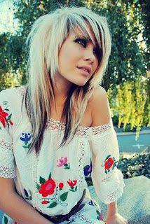 25 Best Ideas About Long Scene Hairstyles On Pinterest Long