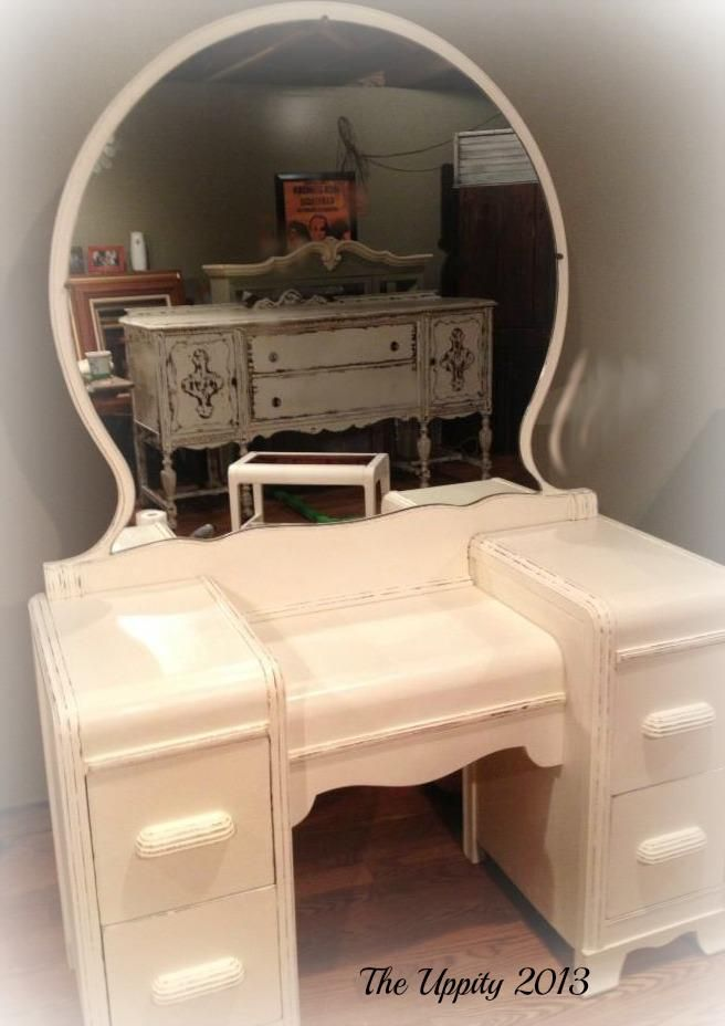 17 Best images about Waterfall Vanity on Pinterest  Vintage Antiques and Art deco