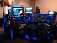 custom gaming desk - Google Search | DIY | Pinterest ...