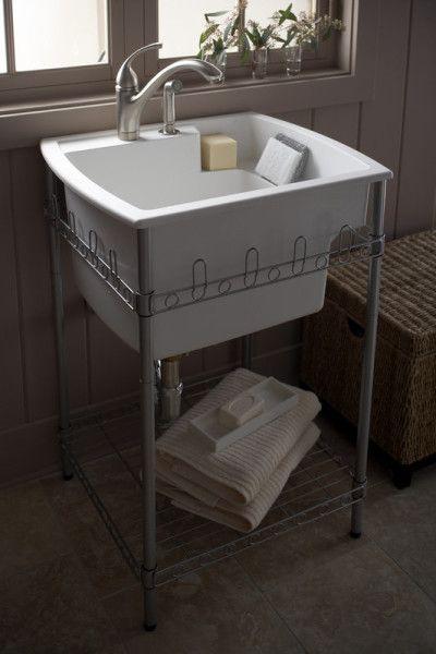 Splash Galleries Sterling 995U Latitude Laundry Sink and