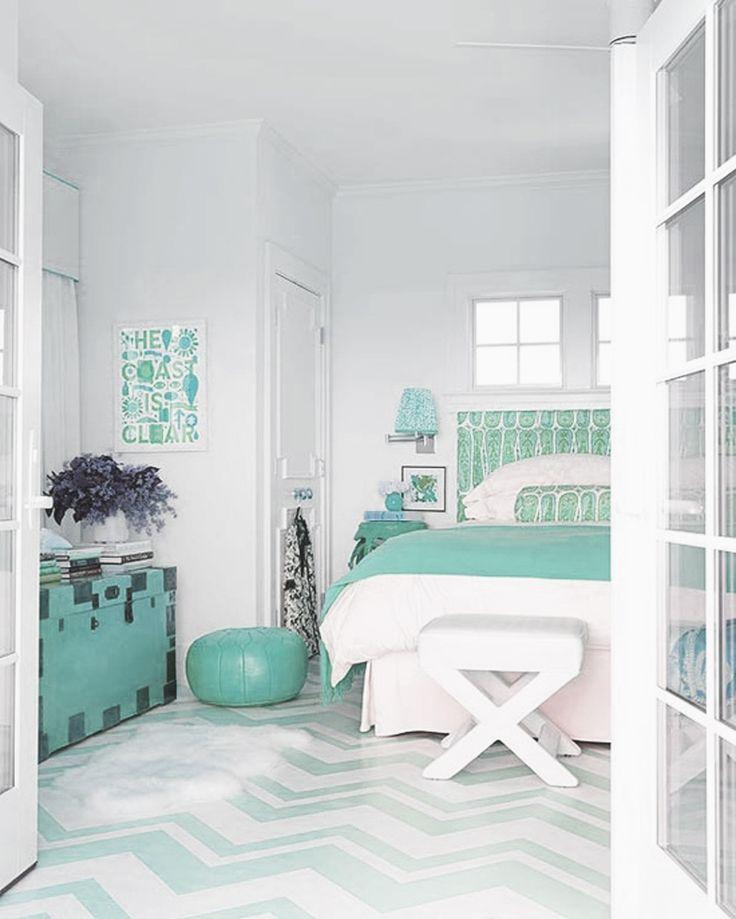 aqua green bedroom decor  Nesting  Pinterest  The floor Suits and Cases
