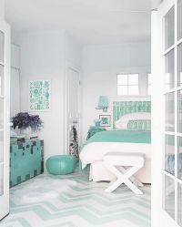 aqua green bedroom decor | Nesting | Pinterest | The floor ...