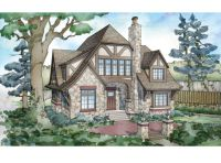 Tudor House Plan with 5824 Square Feet and 5 Bedrooms from ...