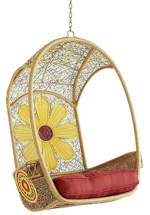 hanging chair pier one and a half rocker with ottoman daisy swingasan by 1 imports | chairs, beds, lounges pinterest ...