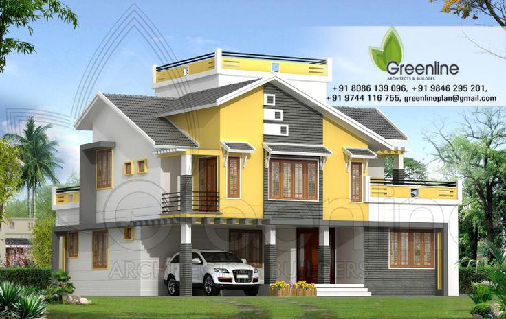 Creative Exterior Design Contemporary Duplex Home Design Indian