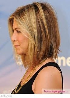 23 Best Images About Hair On Pinterest A Blunt Grown Out Bob