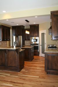 25+ best ideas about Hickory Cabinets on Pinterest ...