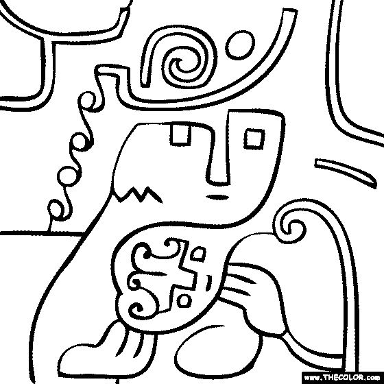 Free Klee 3 Coloring Pages