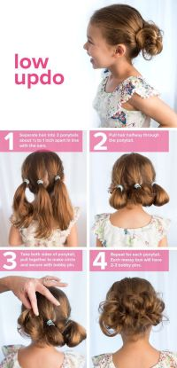 25+ best ideas about Toddler wedding hair on Pinterest ...