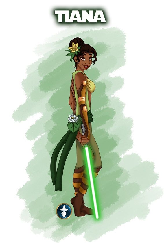princess tiania | Jedi Disney Princess Tiana by ~White-Magician on deviantART