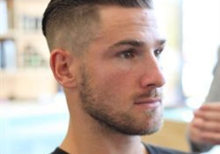 Men S Hairstyle Short Sides Medium Top