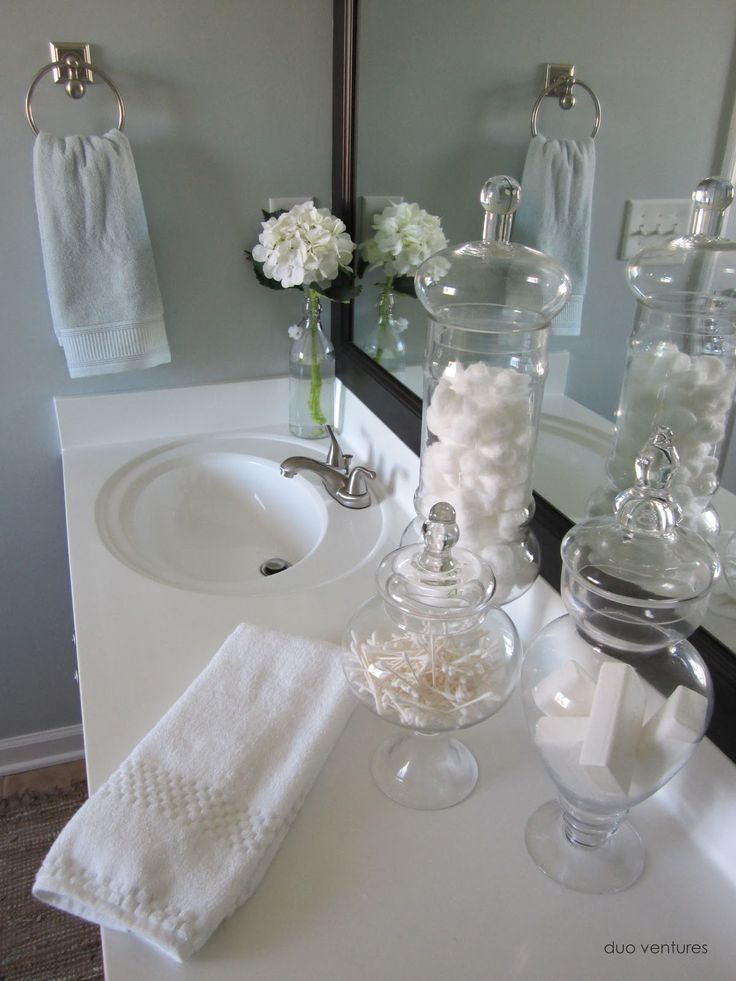 25 best ideas about Apothecary jars bathroom on Pinterest  Elegant bathroom decor Bathroom