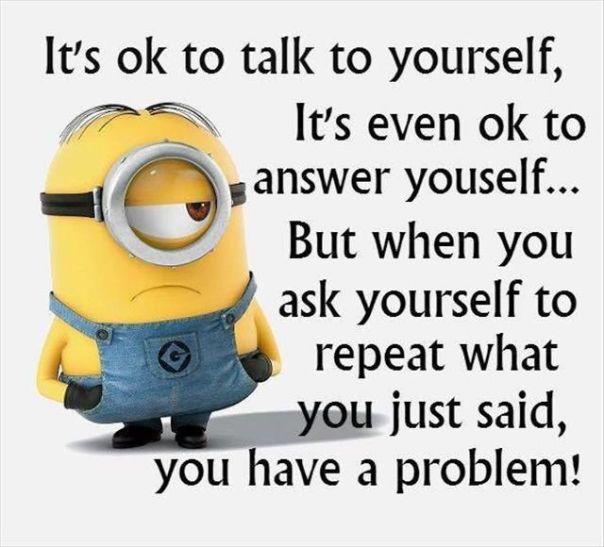Minion Quote: