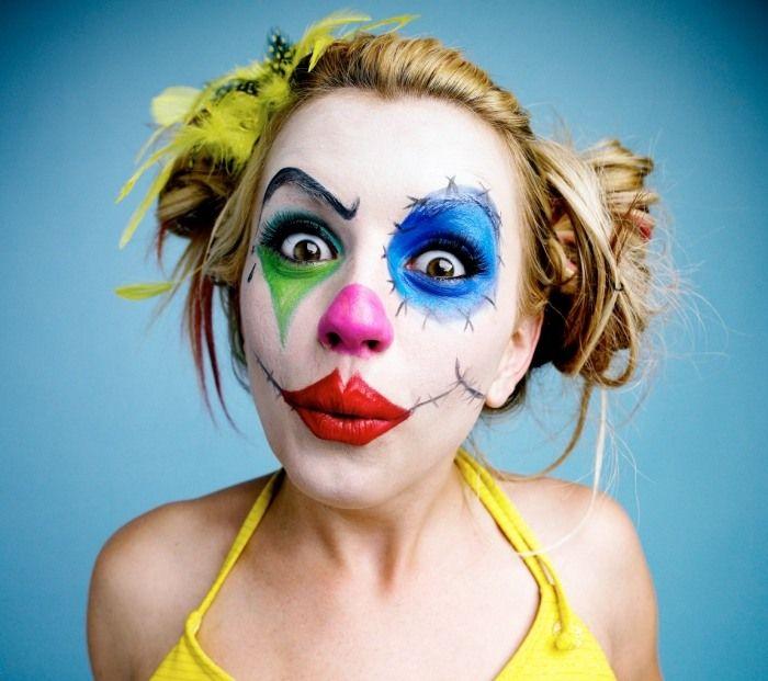 Die Besten 25 Clown Schminke Ideen Auf Pinterest