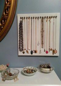 17 Best ideas about Diy Necklace Holder on Pinterest ...