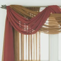 17 Best ideas about Scarf Valance on Pinterest | Curtain ...