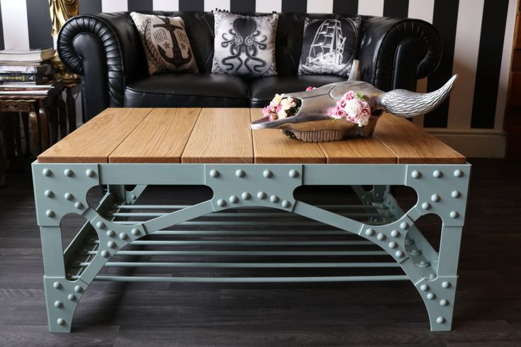 25+ Best Ideas about Industrial Coffee Tables on Pinterest