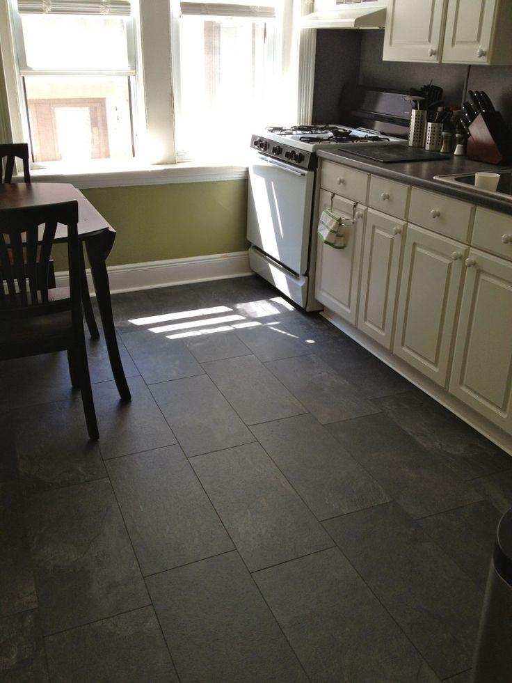 Pergo monson slate flooring though the blogger says it
