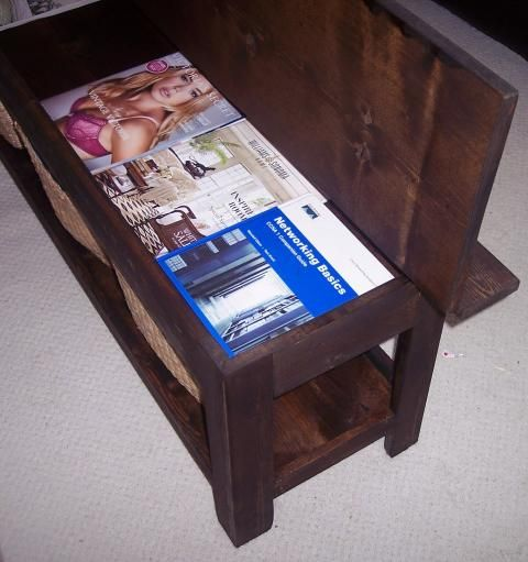 17 Best Images About Storage Bench Plans On Pinterest