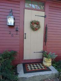 17 Best images about Primitive Front Doors on Pinterest ...
