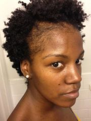 natural hair thinning edges