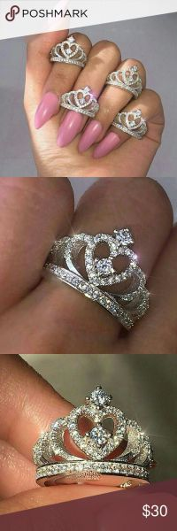 17 Best ideas about Crown Rings on Pinterest | Princess ...