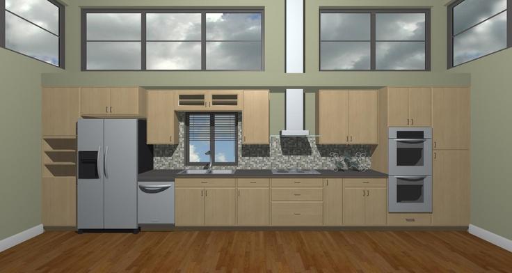 Straight Line Kitchen Layout Hmmm Dream Space