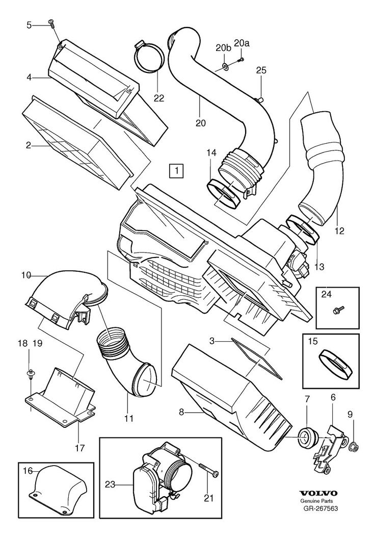 volvo s60 enginepartment diagram