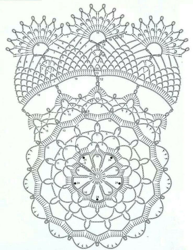 2360 best images about Heirloom Crochet Doilies/Edgings