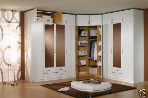 Modern european bedroom closet wardrobe clothes armoire