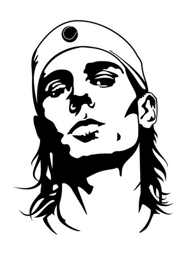 Rafael nadal, Coloring pages and Coloring on Pinterest