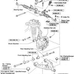 1996 Toyota Corolla Belt Diagram Many To Relationship 2002 Tundra Front Suspension | Fig. Lower Control Arm And Related Components-4wd ...
