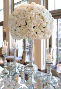 1000+ ideas about Mirror Wedding Centerpieces on Pinterest