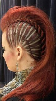 punky braided hairstyle 's