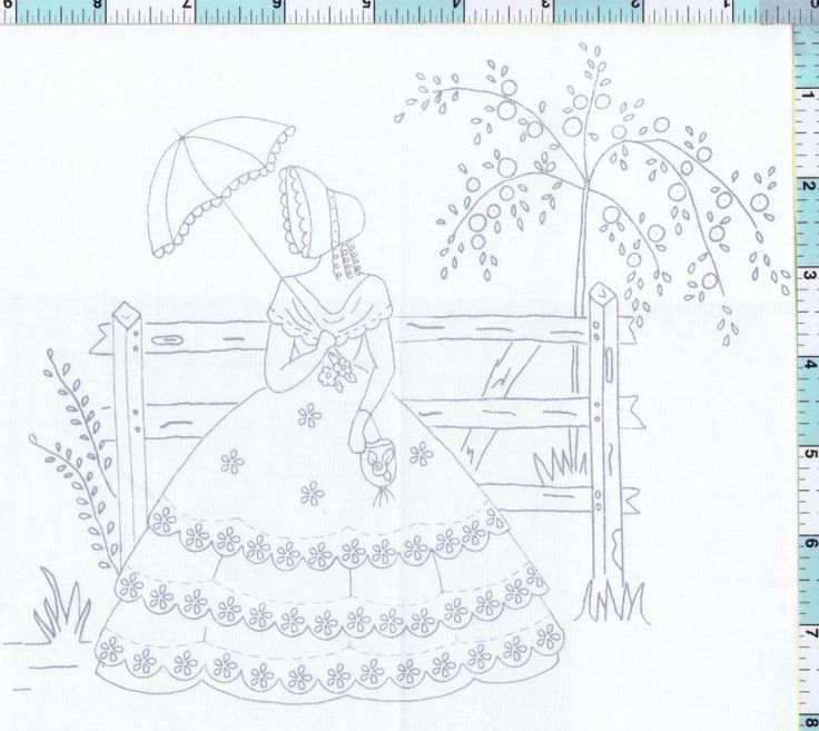 1060 best Embroidery Southern Belles images on Pinterest
