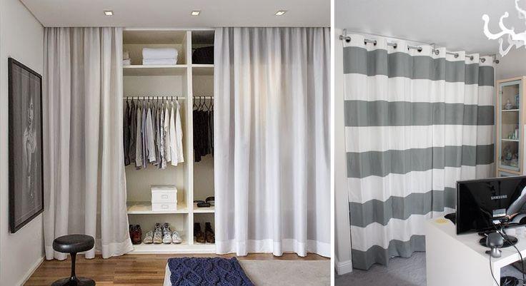 Ideas para un armario low cost poner cortinas  Ideas and