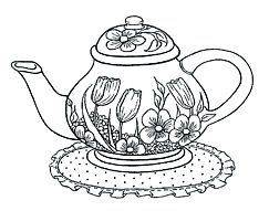 278 best images about Embroidery Cups/Teapots on Pinterest