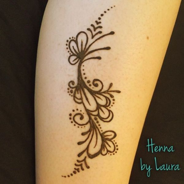 20 Beginners Easy Henna Tattoos Flowers Ideas And Designs