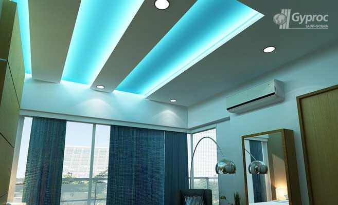 False Ceiling Drywall Saint Gobain Gyproc India