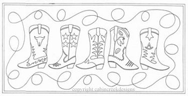 41 best images about Cowboy Embroidery on Pinterest