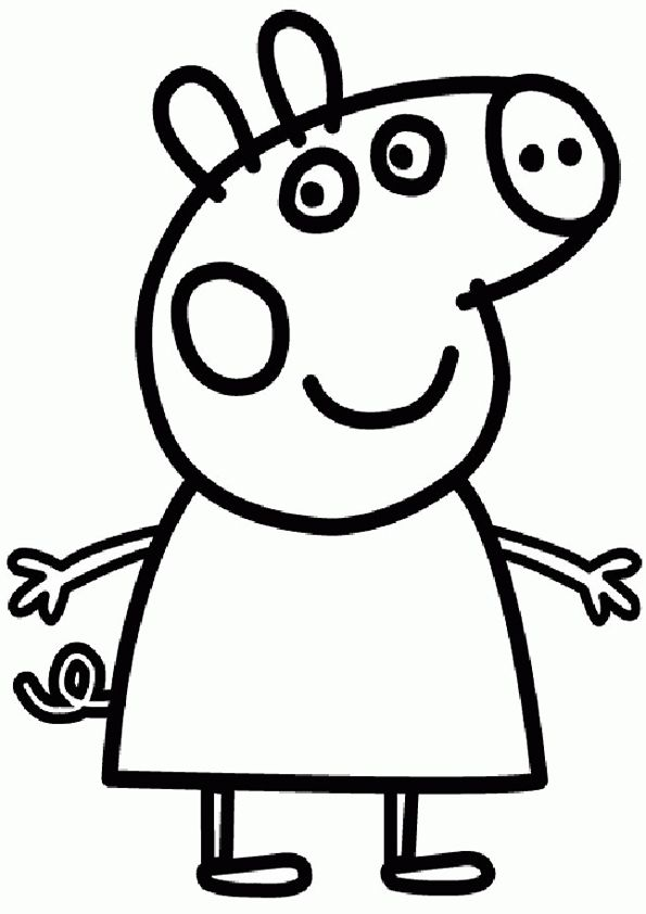 Geography Blog: Peppa Pig Coloring Pages